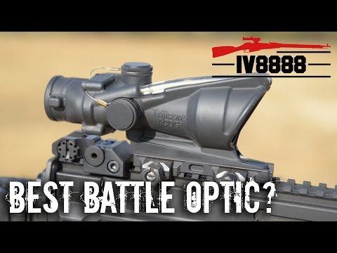 Trijicon ACOG: The Best Battle Rifle Optic?