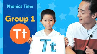 Group 1: Tt | Phonics Time with Masa and Junya | Made by Red Cat Reading