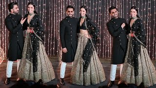 Ranveer Singh's Adorable Sweet MASTI With Wife Deepika Padukone @Priyanka & Nick's reception party