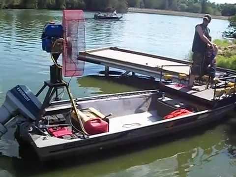 Selling Our Bowfishing Fan Boat Doovi