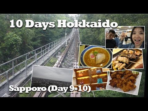10 Days in Hokkaido   Sapporo Again!   Day 9 & 10   Kat L