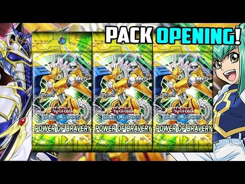 Yu-Gi-Oh! Duel Links | Power Of Bravery PACK OPENING!