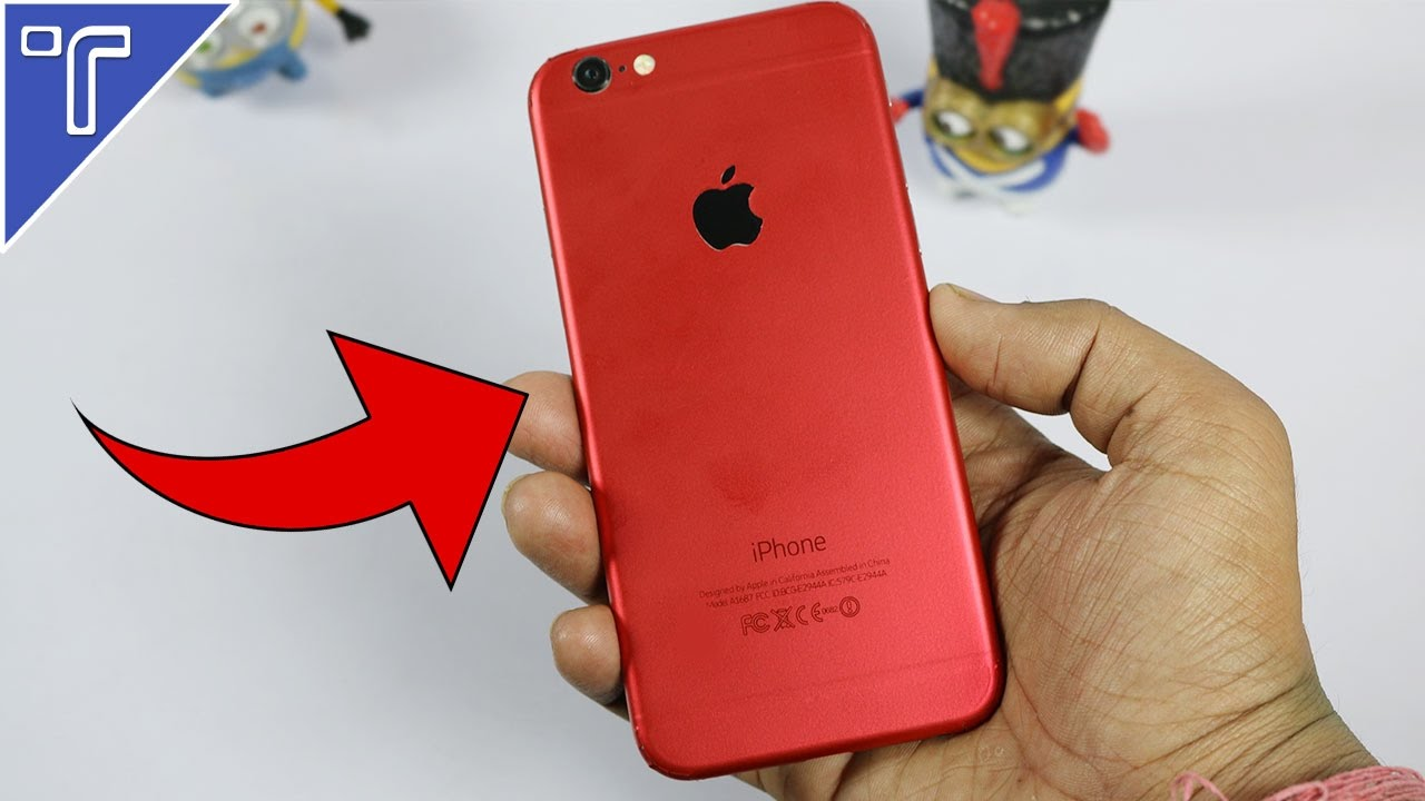 red iphone 6 how to make any iphone 12845