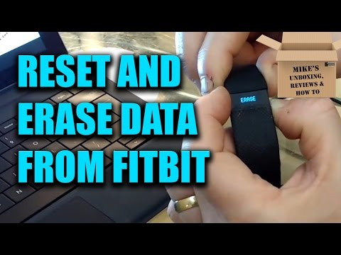 Fitbit Charge & Charge 2 HR Factory Reset, Delete & Erase Data Instructions & Guide