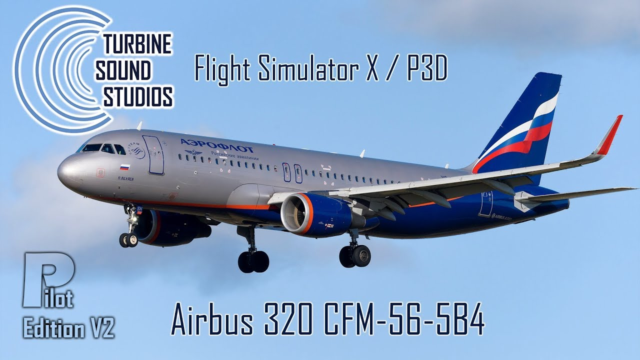 TSS Airbus 320 CFM56-5B4 Pilot Edition v2     - Just Flight