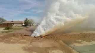 Water Main Blowout