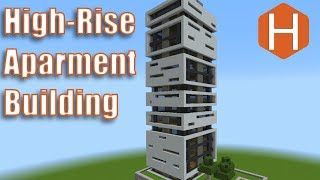 High-Rise Apartment Building #1 Minecraft Tutorial