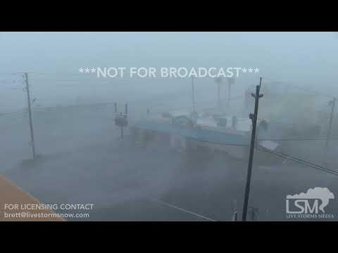 10-10-18, Hurricane Michael Full Video, Panama City Beach FL