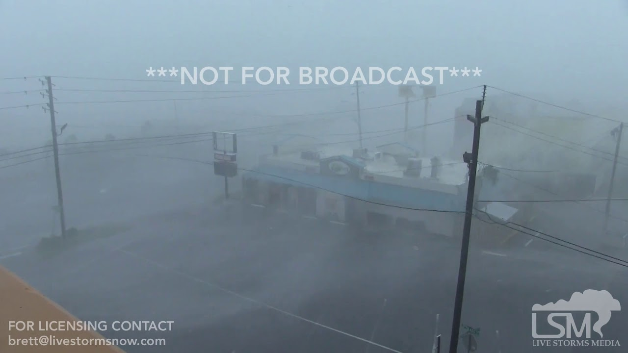 10 18 Hurricane Michael Full Video Panama City Beach Fl