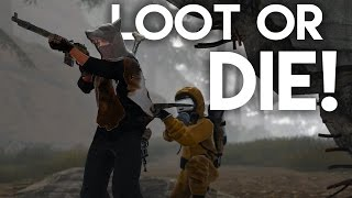 LOOT FOR YOUR LIFE! | Rust SOLO Survival (Terminus)