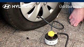 Oprava pneumatiky s pomocí lepicí soupravy | Hyundai