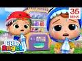 No, No Sugary Drinks! | Little Angel Kids Songs & Nursery Rhymes