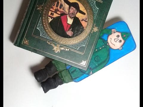Оригинальные закладки для книг из бумаги своими руками