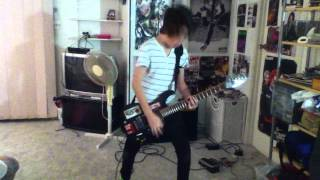 Frank Iero Guitar Cover Demolition Lovers My Chemical Romance