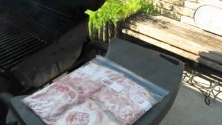 Labor Day Pork Rind Burgers