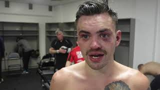 TYRONE McKENNA REACTS TO 10 RND POINTS WIN OVER GARRIDO & TALKS TOMMY COYLE & CURTIS WOODHOUSE