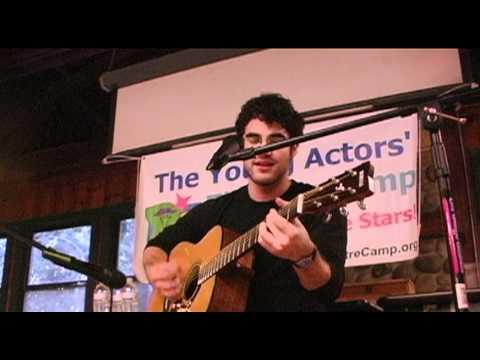 Darren Criss Singing Teenage Dream