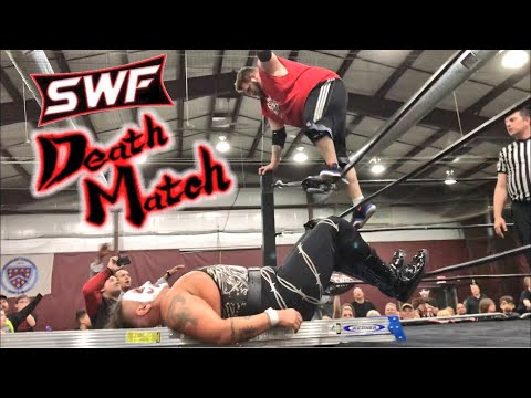 GRIMS CRUSHING LADDER DIVE NEARLY CRIPPLES SWF PROMOTER