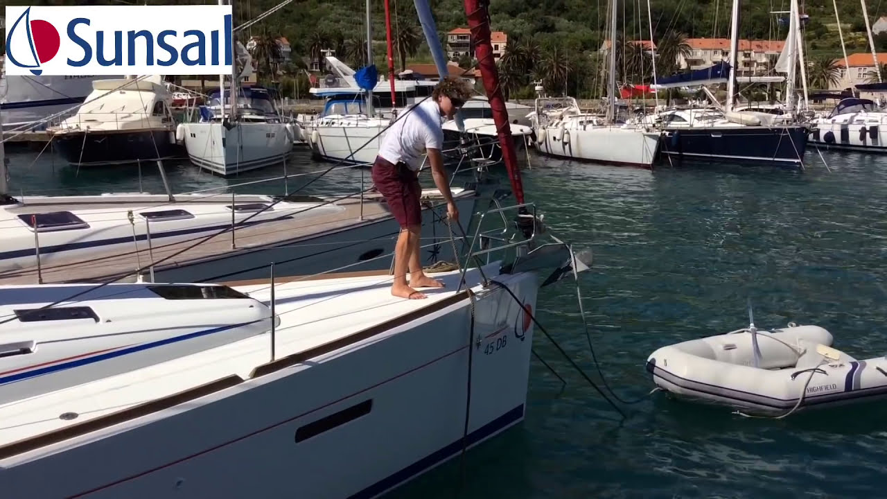 How to    Mediterranean mooring