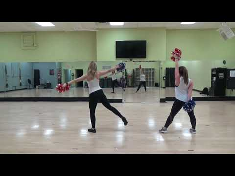 Mid American Pompon All Star Iceland Pom Routine Instruction Song #1