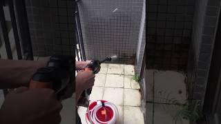 20v 리튬배터리 고압세차기 테스트영상