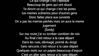 Team BS case départ lyrics de 100% lyrics