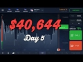 Road to💲100,000! Day 5 - Binary Options Trading Strategy 2017. IQ Options Secret Strategy 2017
