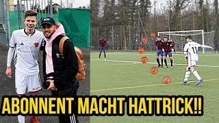 U 15 Nationalmannschaft Abonnent macht Hattrick in Fussballspiel!