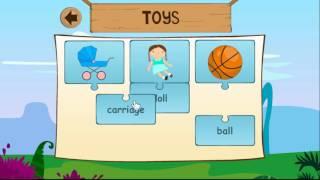 Новые слова на английском для детей - тема Игрушки