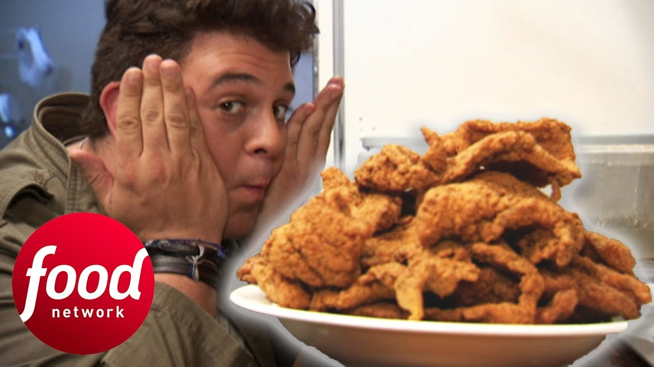 Adam Sets A New Record For The Fried Catfish Challenge | Man v Food