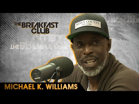 Michael K. Williams  With The Breakfast Club 9116