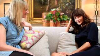 Helena Christensen Vogue TV interview.flv