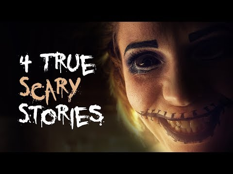 4 True Scary Stories | Truck Driver/Crazy Ex/break-In/Home Alone