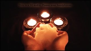 106. 3D Vigorous Head Massage (Binaural - Wear Headphones) - SOUNDsculptures - ASMR