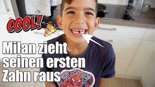 Milan verliert seinen ersten Zahn   ALDI live Haul   Familienvlog   Filiz