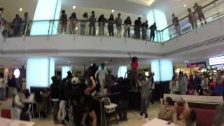 Travis Porter Flash Mob at Lenox Mall in ATL
