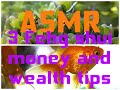ASMR 3 Feng Shui Money and Wealth Tips