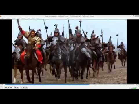 Gwanggaeto, The Great Conqueror Trailer Korean Historical drama