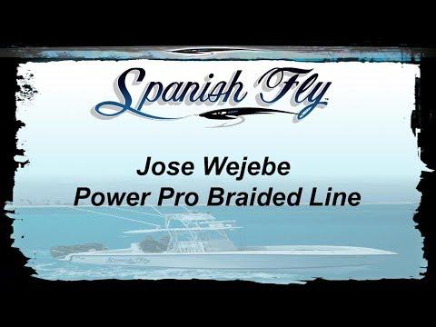 Fishing: Power Pro Depth-Hunter Metered Braided Line-Jose Wejebe/Spanish Fly TV