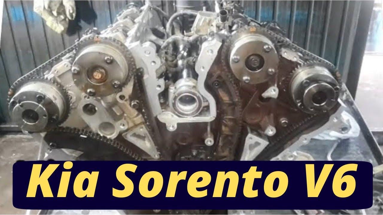 Kia Sorento V6 Engine Timing Chain Kia Sorento 2017 3 8l