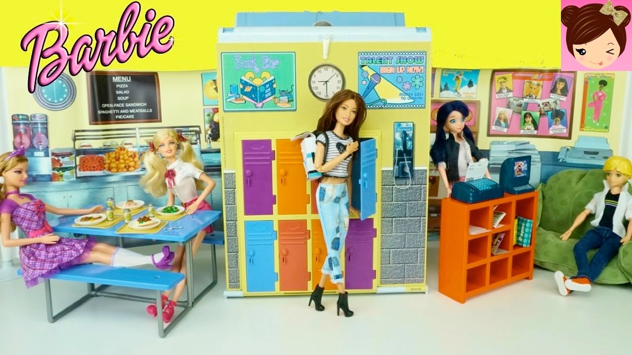 Barbie Doll Highschool Playset
