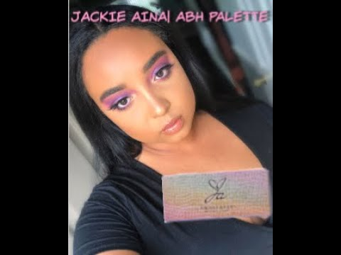 JACKIE AINA PALETTE |ANASTASIA BEVERLY HILLS REVIEW | MORGAN CHRISTINA
