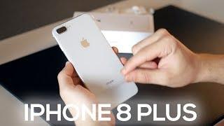 iPHONE 8 PLUS -  UNBOXING E COMENTÁRIOS