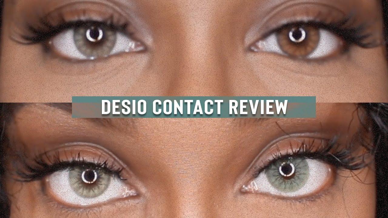 Desio Contact Lenses Review Espresso Amp Jungle Fever