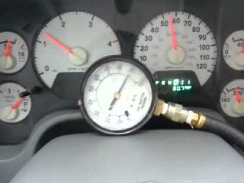2006 Dodge 2500 48re Governor Pressure Test - YouTube