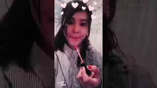Как красят губы кореянки