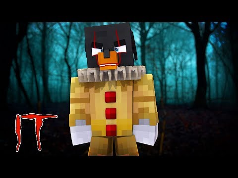 Minecraft IT - IT TURNS DONUT INTO THE SCARY CLOWN IN THE SEWERS!!