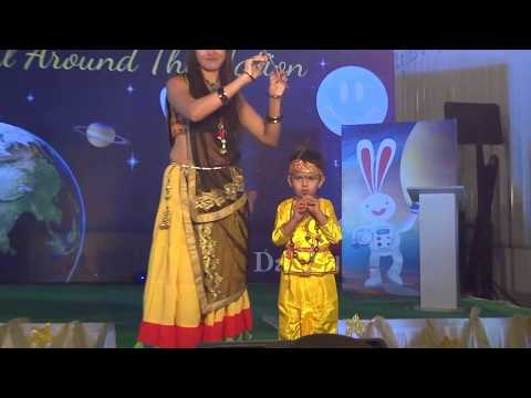 Euro Kids Annual Function Fashion show Gujarat Theme