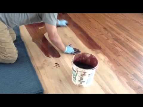 Sacramento Hardwood Floor Repair Refinish And Stain Youtube