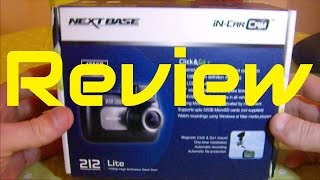 Nextbase 212 Dash Cam Review
